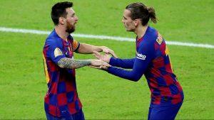Griezmann reveló cómo es su relación con Messi desde que llegó al Barcelona.