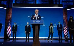 """Biden presenta a su equipo de Seguridad Nacional; """"EU está de vuelta"""", afirma"""