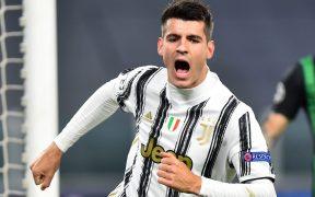 Álvaro Morata anotó el gol del triunfo de Juventus ante Ferencvaros que les da el pase a octavos de final.