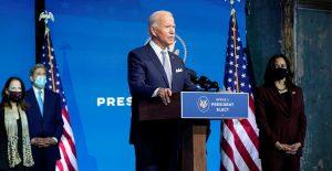 """Biden dice que su equipo """"no va a estar tan rezagado"""" como temía"""