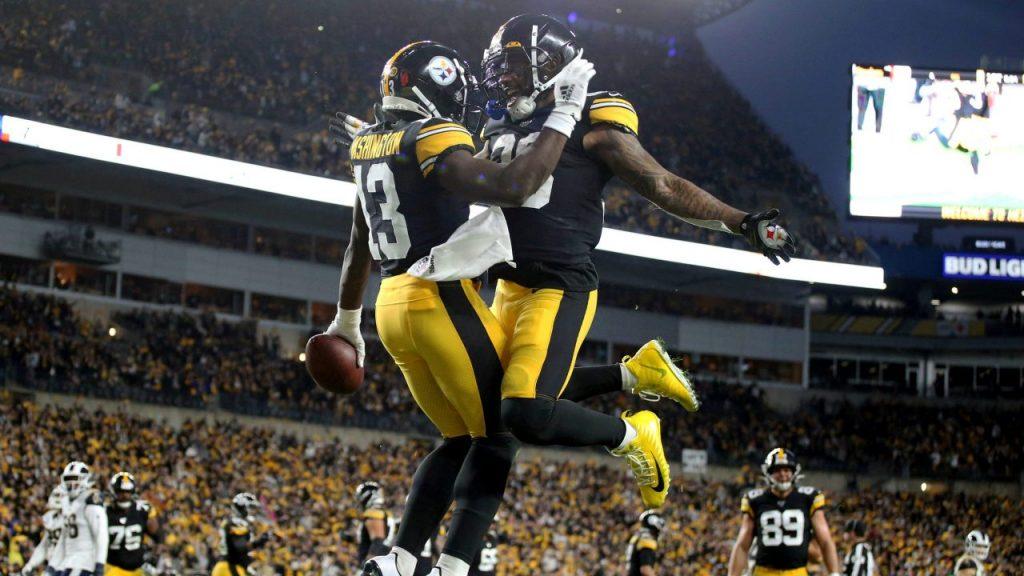 Los Steelers recibirán a los Ravens el domingo, y no el jueves, Dia de Acción de Gracias.