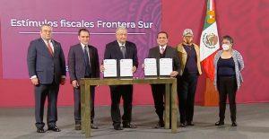 México amplía programa de beneficios fiscales en la fronteras norte y sur
