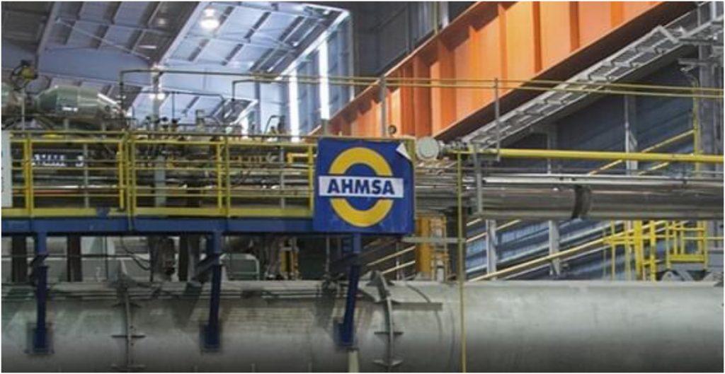 Altos Hornos de México detiene producción por desbasto gas natural