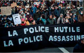 Al menos nueve detenidos en París tras las manifestaciones contra la nueva ley de seguridad