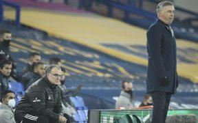 Marcelo Bielsa ganó el duelo a Carlo Ancelotti entre dos técnicos de gran prestigio.