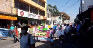 Protestan contra termoeléctrica en Morelos; piden a AMLO cancelar obra