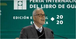Raúl Padilla López, presidente de la Feria Internacional del Libro (FIL)