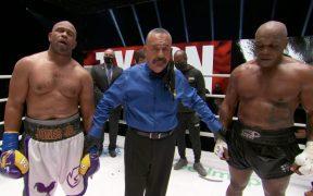 Tyson y Jones firmaron un empate en su pelea de exhibición tras ocho asaltos.