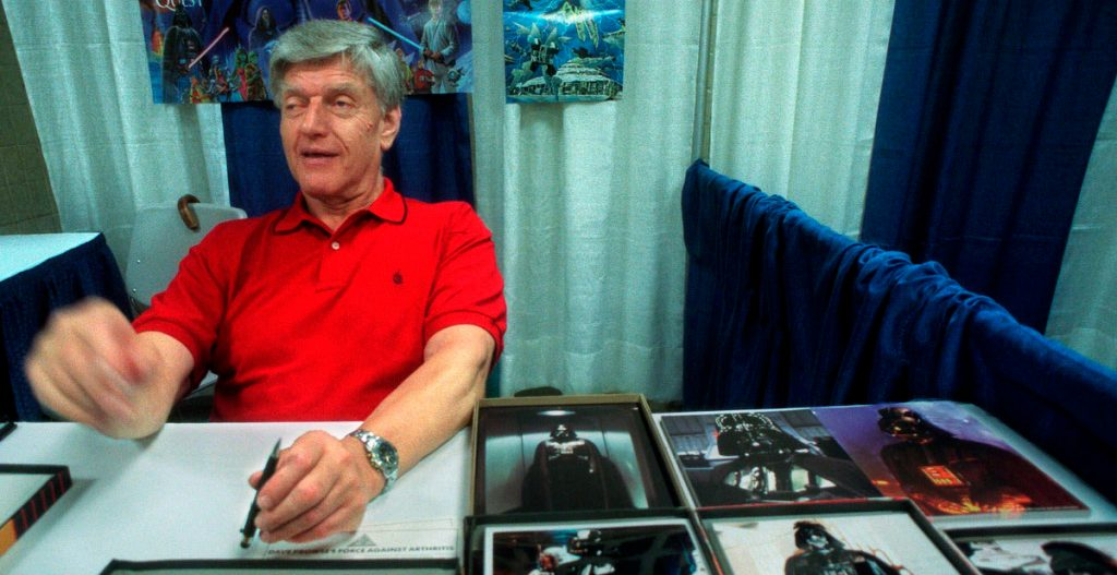 Murió Dave Prowse, el actor que interpretó a Darth Vader