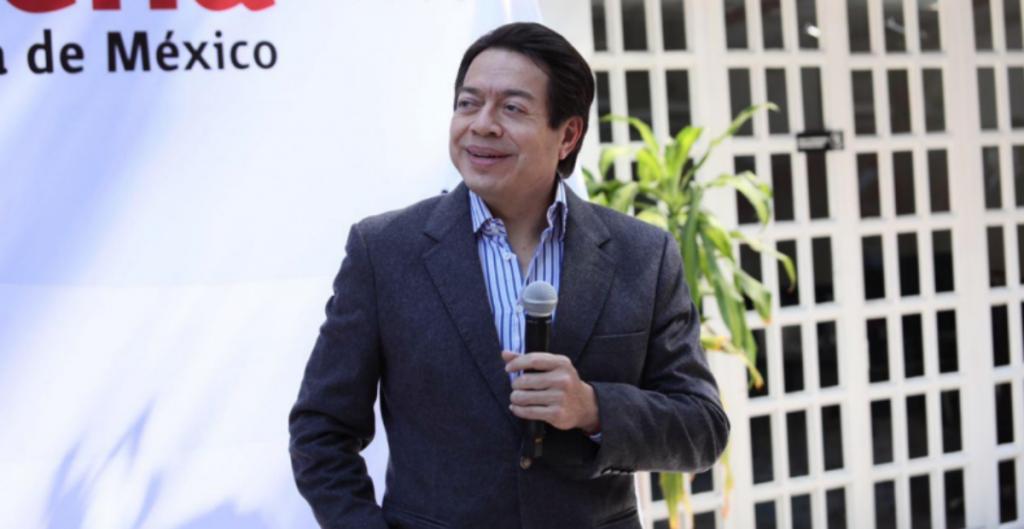 Mario Delgado, dirigente de Morena