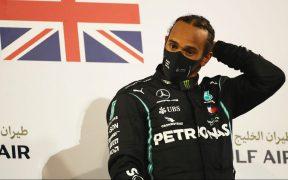 Lewis Hamilton dio positivo a COVID-19 y no podrá participar en el Gran Premio de Sakhir. Foto: Reuters.