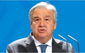 Antonio Guterres, director de la ONU