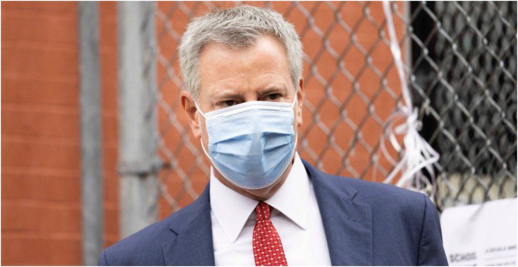 Bill de Blasio, alcalde de la ciudad de Nueva York