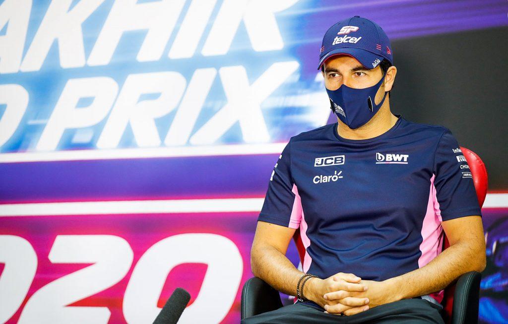 Sergio Pérez saldrá quinto en el Gran Premio de Sakhir y buscará retomar la cuarta posición en la clasificación de la temporada