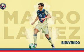 El Club América anunció la llegada de Mauro Lainez como su primer refuerzo. Foto: @ClubAmerica.