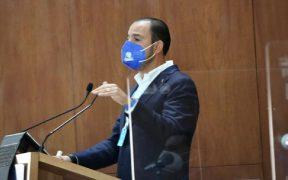 Mario Delgado pasó por varios partidos para vivir del presupuesto: PAN