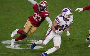 Los Bills no tuvieron muchos problemas para imponerse a los 49ers. Foto: Reuters.