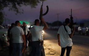 Restablecen paso de la carretera Coalcomán-Tepalcatepec en Michoacán tras ataques del CJNG