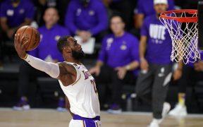 LeBron James reconoció que su sueño es jugar junto a su hijo. Foto: AP