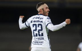 Vigón fue el héroe de Pumas ante Cruz Azul, y espera que esa confianza continúe en la Final ante León. Foto: Mexsport.