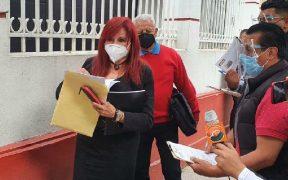 Layda Sansores va como candidata de Morena a la gubernatura de Campeche