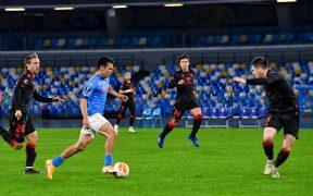 El Chucky Lozano generó algunas jugadas de peligro ante la Real Sociedad. Foto: EFE.