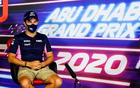 'Checo' Pérez tiene sentimientos encontrados ante su última carrera con Racing Point. Foto: EFE.