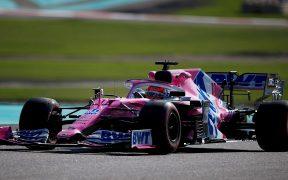 'Checo' Pérez saldrá en la última fila en el GP de Abu Dabi. Foto: EFE
