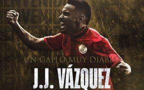 El Toluca anunció así la llegada del Gallito Vázquez a sus filas. Foto: @TolucaFC