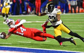 Los Bills consiguieron su décima victoria de la temporada y propinaron su segundo descalabro a los Steelers. Foto: Reuters