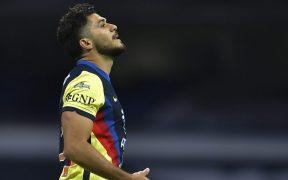 Henry Martín será una baja importante para el América en la Liga de Campeones de Concacaf. Foto: Mexsport.