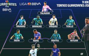 Cinco jugadores del León integran el once ideal del Apertura 2020. Foto: @LigaBBVAMX
