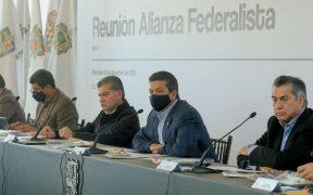 """""""No vamos a esperar"""": Alianza Federalista exige al gobierno federal una estrategia de vacunación eficaz"""