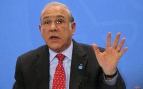 Secretario general de la OCDE, Ángel Gurría, inicia cuarentena, tras contacto con presidente de Francia