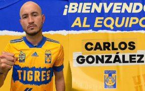 Los Tigres anunciaron la contratación de Carlos González, quien destacó con los Pumas. Foto: @TigresOficial