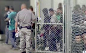 Patrulla Fronteriza de EU halla a 150 migrantes escondidos en un camión
