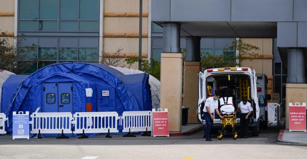 Aumento de contagios en California satura ocupación de hospitales