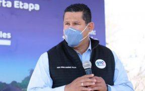 Gobernador de Guanajuato da positivo a Covid-19