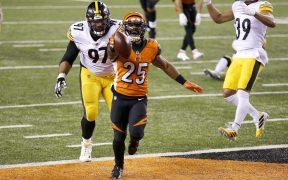 Los Bengals sorprendieron a los Steelers en Lunes por la Noche. Foto: Reuters