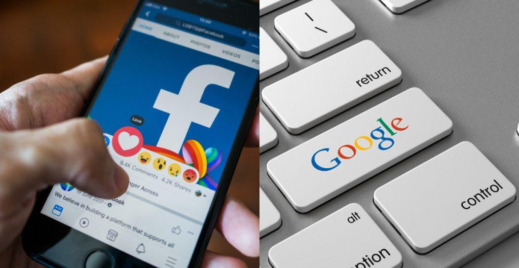 Facebook y Google acordaron trabajar juntos ante posible demanda antimonopolio: WSJ