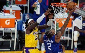 Los Clippers dominaron y vencieron a los Lakers en la inauguración de la temporada 2020-21 de la NBA. Foto: Reuters