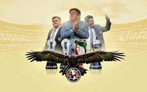 El América recordó los títulos del Piojo Herrera en sus dos etapas como técnico. Foto: @ClubAmerica