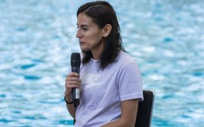 La mexicana Paola Espinosa superó la COVID-19 y se alistará para Tokio. Foto: Mexsport