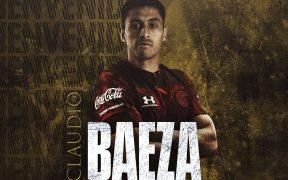 Claudio Baeza pasa del Necaxa al Toluca para el Clausura 2021. Foto: @TolucaFC