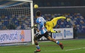 El golazo de último minuto de Insigne evitó la derrota del Napoli ante Torino. Foto: EFE