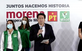 """Morena, PT y PVEM anuncian la alianza """"Juntos Hacemos Historia"""""""