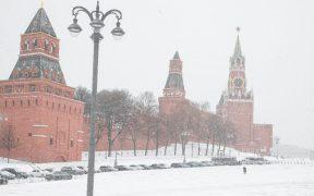 Esta Navidad, la capital de Rusia enfrenta la peor nevada del 2020