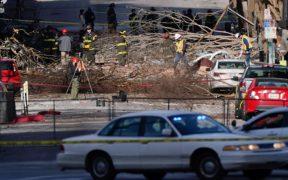 Hombre que detonó coche bomba en Nashville murió en la explosión