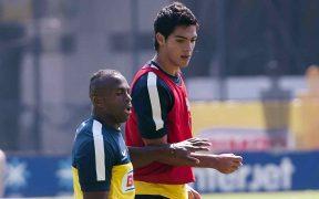 Benítez y Jiménez formaron una dupla goleadora en el América. Foto: Mexsport