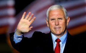 Pence busca que rechacen demanda presentada para que revierta triunfo de Biden